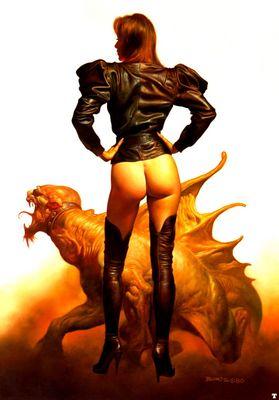 BV 1980 leather jacket