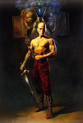 BV 1982 bald warrior