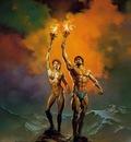BV 1985 olympic torch