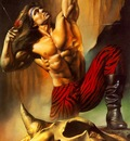 BV 1987 archer and skull