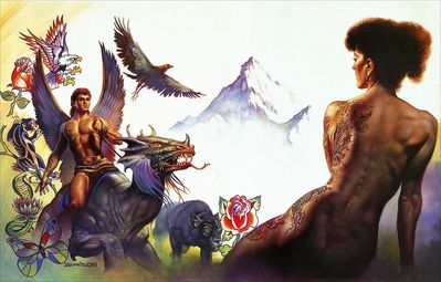 BV 1988 living tattoos