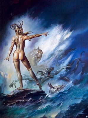 BV 1993 sea creatures