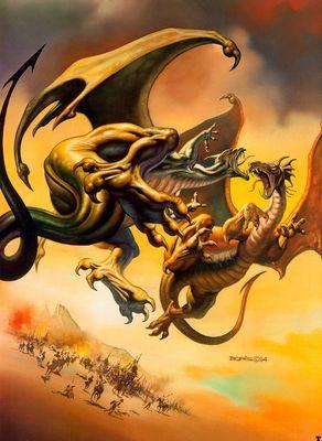 BV 1994 dragon fight