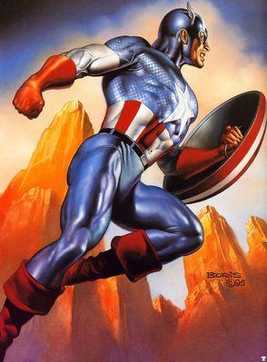 BV 1995 captain america