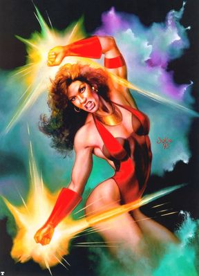 JB 1995 scarlet witch