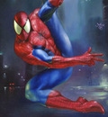 JB 1995 spidey in the rain