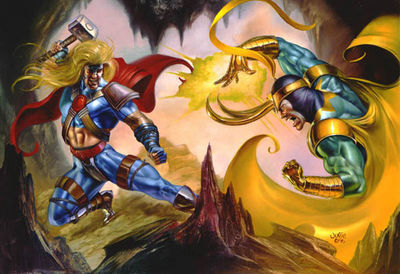 JB 1996 thor vs loki