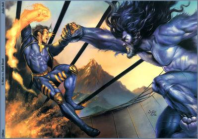 JB 1996 x man vs dark beast