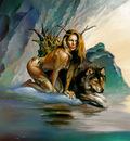 BV 1997 wolf girl