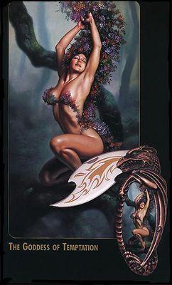 BV extra  cards  the goddess of temptation