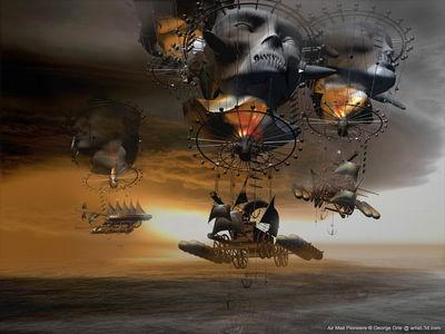 3d sci fi landscapes