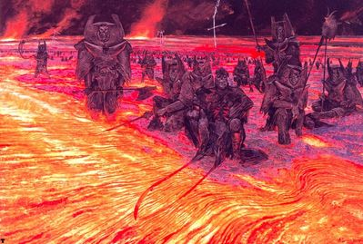 wayne barlowe the legion of hell