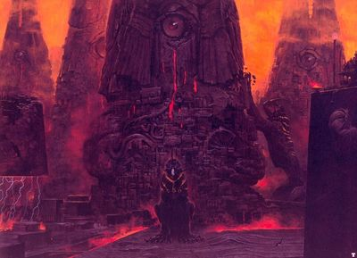 wayne barlowe watchtowers