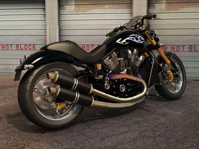 Custom Harley V Rod by dangeruss
