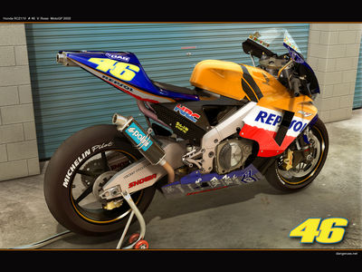 Honda RC211V   3D by dangeruss