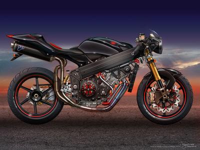 Suzuki GS1000 Concept by dangeruss