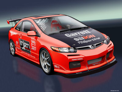 Honda Civic Si   Vexel by dangeruss