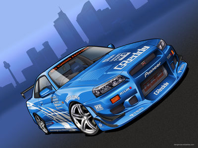 C West Skyline   Vector by dangeruss