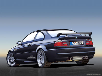 Custom BMW M3   Vector by dangeruss