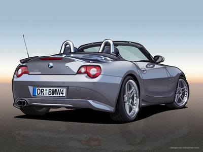 Custom BMW Z4   Vector by dangeruss