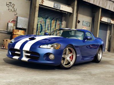 Dodge Viper SRT 10 Front by dangeruss