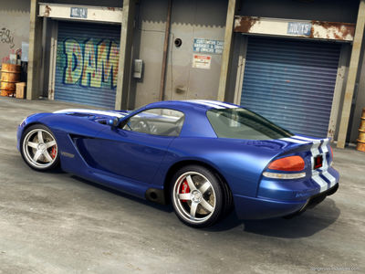 Dodge Viper SRT 10 Rear by dangeruss