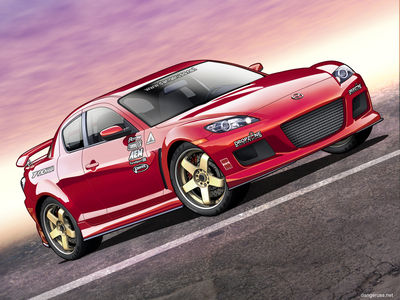 Mazdaspeed RX 8 Vexel by dangeruss