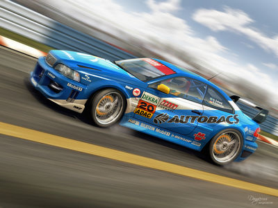Racing Volvo C70   ficticious by dangeruss