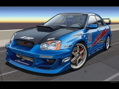 Subaru WRX by dangeruss