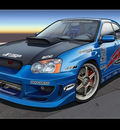 Subaru WRX by dangeruss