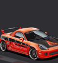Toyota MR2   Vector by dangeruss