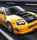 Yellow Subaru WRX   Motion by dangeruss