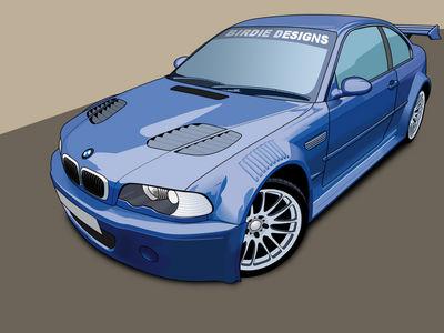 BMW M5 Toon by BirdieNUFC
