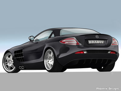 Brabus SLR Toon by dr phoenix