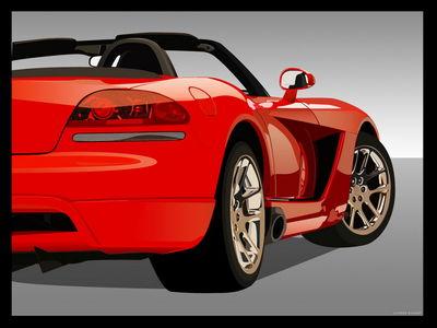 Dodge Viper SRT10 Roadster by rivulet