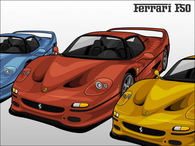 Ferrari F50 by singaboy