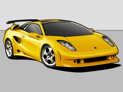 Italdesign Cala Vectorized by OmicroNiuM