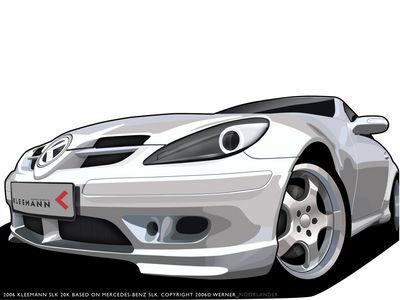 Kleemann Mercedes Benz SLK by hoax NL