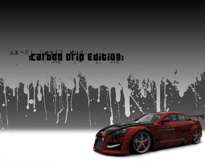 RX 8 Carbon Drip wall 1280x1024