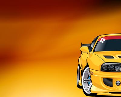 Supra MK4 by pridef