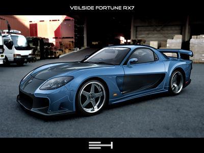 Veilside Fortune RX7 by emrehusmen0
