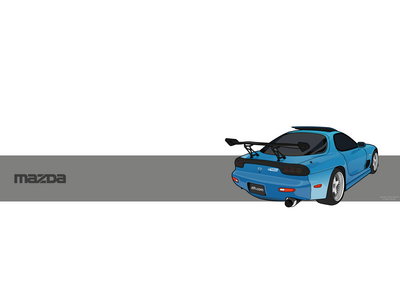 ZTH RX 7 Wallpaper by under18carbon