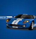 Ford GT Vector Blue