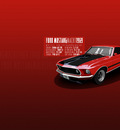 ford mustang mach 1 1969   wp by visceralNL