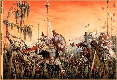 QMan RM ISOF 1472 Hawkmoon Defends Castle Brass
