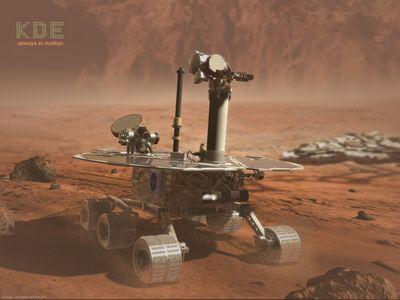 mars rover 1024kde