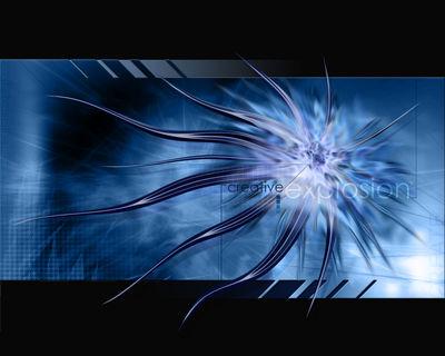 CREATIVE EXPLOSION BLUE BLA