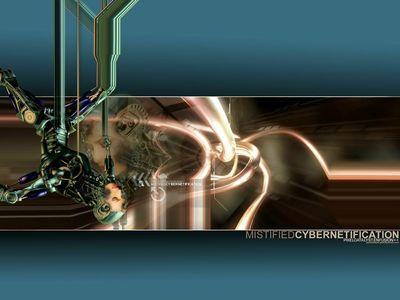 Digital Art   Mistified Cybernetification