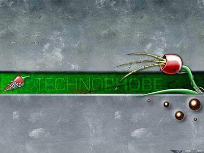 Digital Art   Technophobe