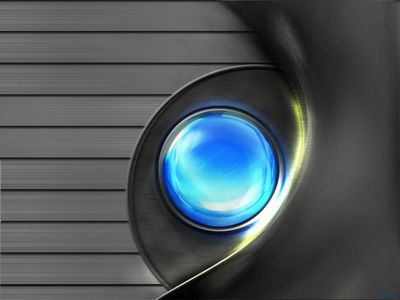 Digital Art   The Blue Eye